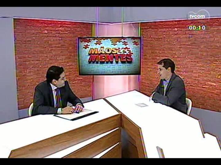Mãos e Mentes - Diretor regional da IBM, Luís Toledo - Bloco 4 - 09/05/2013
