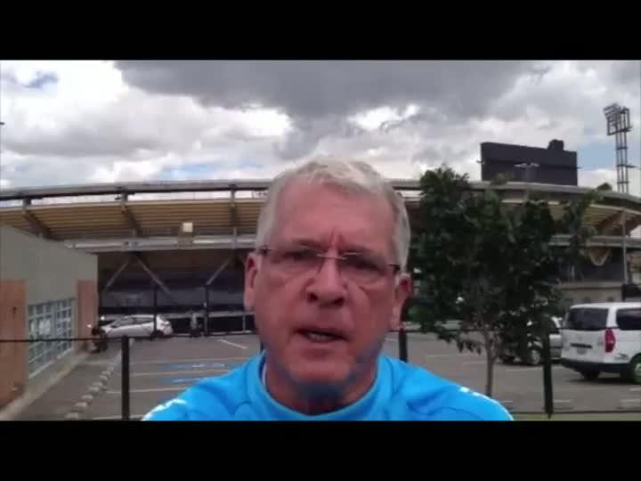 Preparador físico do Grêmio fala sobre as condições dos atletas na altitude. 11/05/2013
