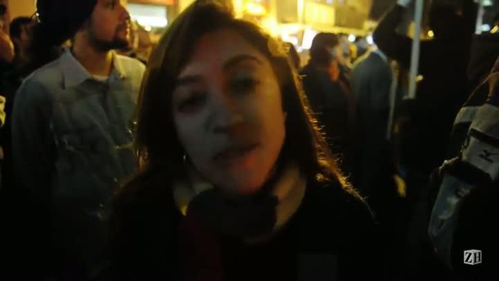 Manifestação termina em confronto na Capital