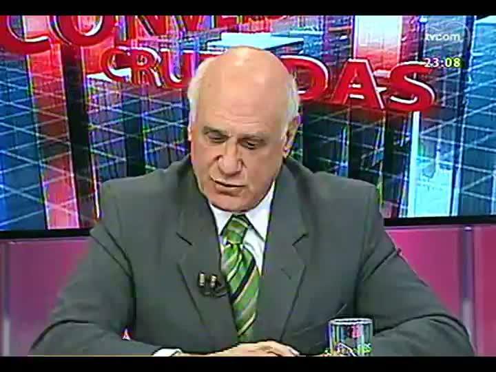 Conversas Cruzadas - Greve do magistério estadual: vai resolver ou será mais um movimento para marcar posição? - Bloco 4 - 26/08/2013