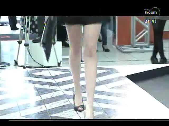 TVCOM Tudo Mais - As Patrícias: confira imagens do Pompéia Fashion Week, que contou com a presença do ator Caio Castro