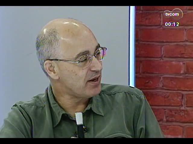 Mãos e Mentes - Professor e diretor do Centro Polar e climático da Ufrgs, Jefferson Cardia Simões - Bloco 4 - 17/10/2013