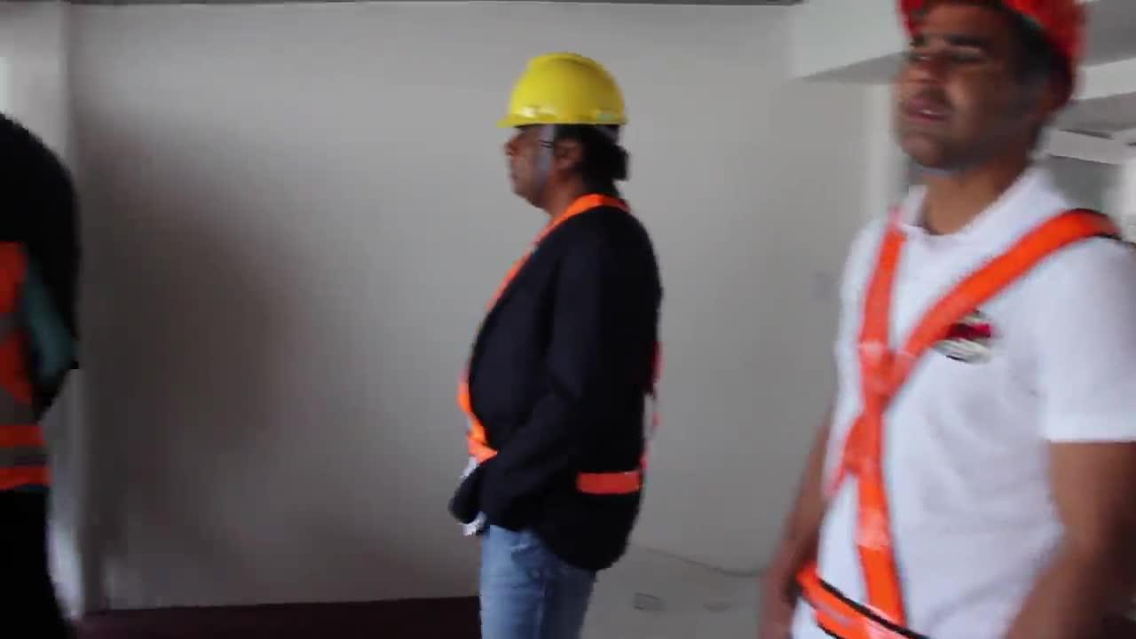 Por dentro do Beira-Rio: Jajá e Fabiano conhecem os novos camarotes do Beira-Rio. 12/11/2013.