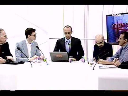 Conversas Cruzadas - 4o bloco - Falta de água - 06/01/2014