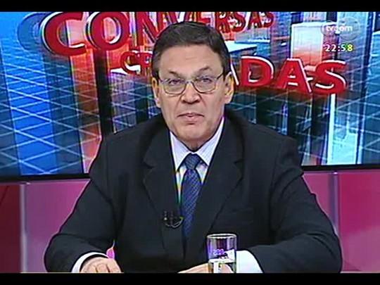 Conversas Cruzadas - Conversa sobre reflexos e possíveis desdobramentos do reajuste aos servidores do estado - Bloco 3 - 08/04/2014