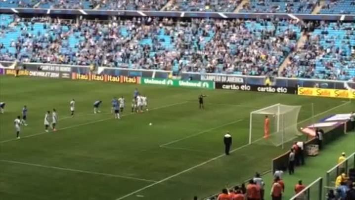 Confira o gol do Grêmio marcado por Luan