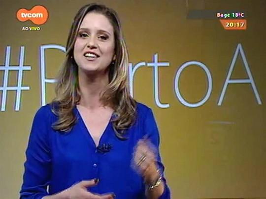 #PortoA - Bárbara Paz fala sobre a peça \'A Toca do Coelho\' com Reynaldo Gianecchini em POA