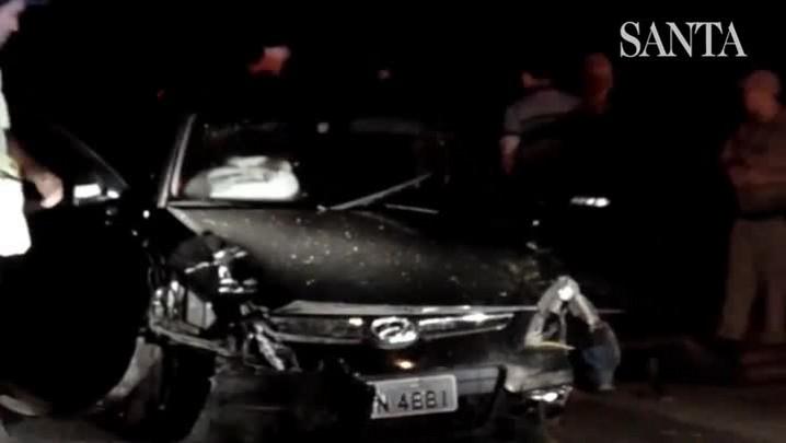 Assaltantes são presos em flagrante após roubo de carro em Blumenau