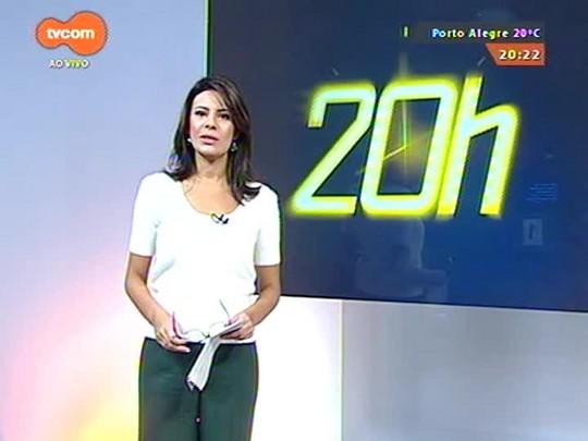 TVCOM 20 Horas - Caminhoneiros fazem paralisação em diversos pontos do Estado por tabela de preço mínimo do frete - 23/04/2015
