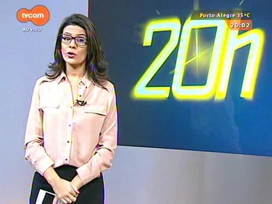 TVCOM 20 Horas - Viagem de Sartori à Europa termina com bons resultados - 28/05/2015
