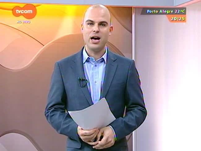 TVCOM 20 Horas - Cléo Kuhn garante que tempo firme predomina no estado até a próxima semana - 28/07/2015