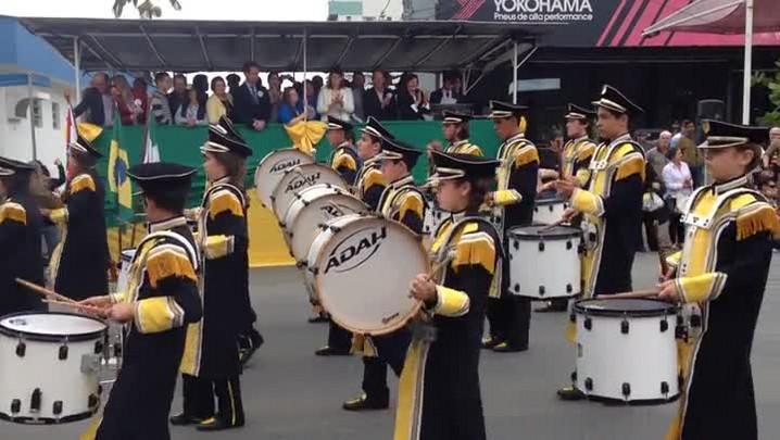 Veja como foi o desfile cívido de Jaraguá do Sul