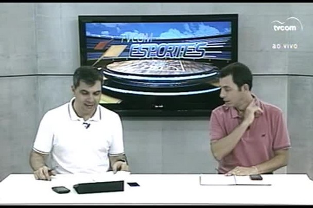 TVCOM Esportes. 1º Bloco. 29.01.16