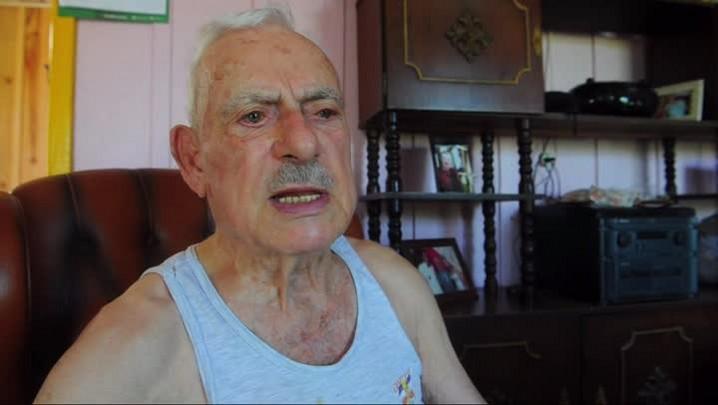 Lindolfo conta a história de uma queda de avião em Santa Maria
