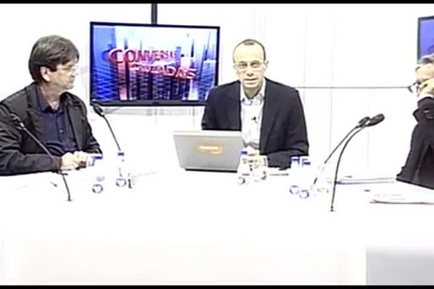 TVCOM Conversas Cruzadas. 3º Bloco. 10.06.16