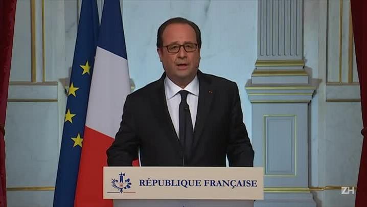 Hollande reconhece ação terrorista