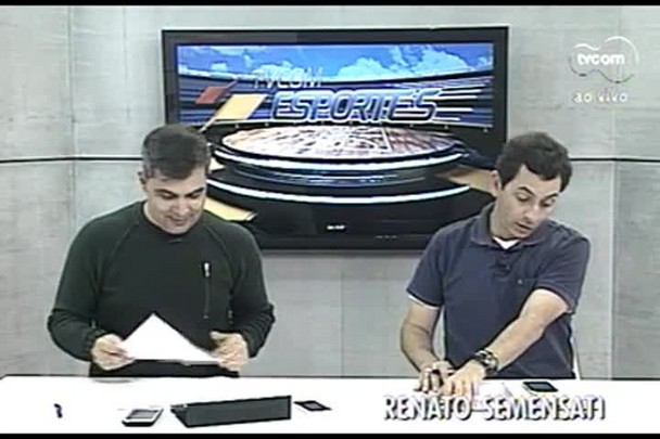 TVCOM Esportes. 1º Bloco. 02.09.16
