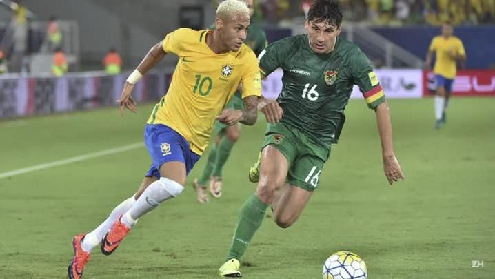 Brasil goleia Bolívia com gol 300 de Neymar