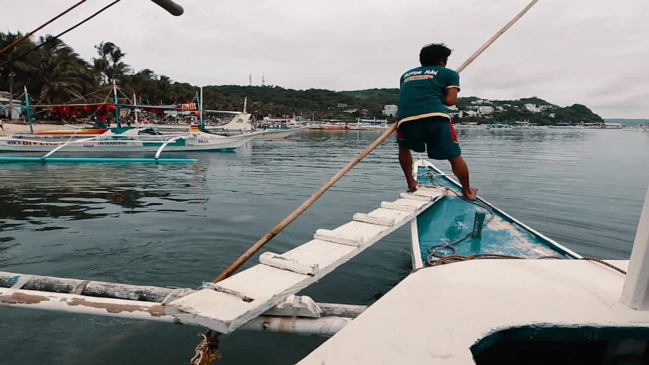Passeio de barco em Boracay