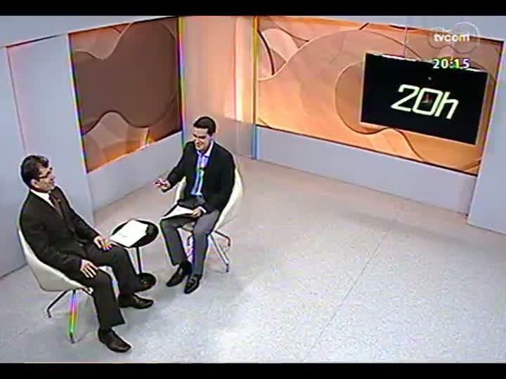 TVCOM 20 Horas - Procurador regional da República fala sobre a ação do Ministério Público Federal na Operação Concutare - Bloco 2 - 30/04/2013