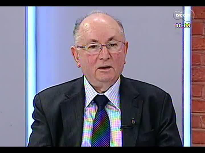 Mãos e Mentes - Presidente do Secovi RS e Agademi, Moacyr Schukster - Bloco 4 - 03/06/2013