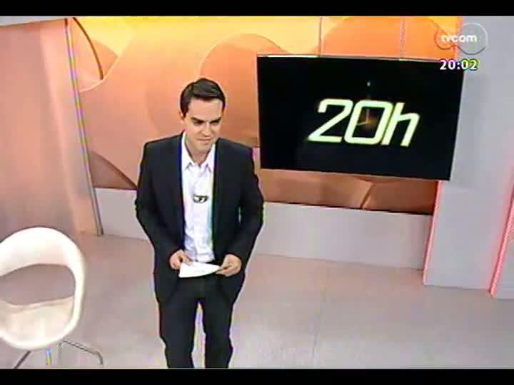 TVCOM 20 Horas - Análise dos protestos contra tarifa de ônibus, em Porto Alegre - Bloco 1 - 14/06/2013
