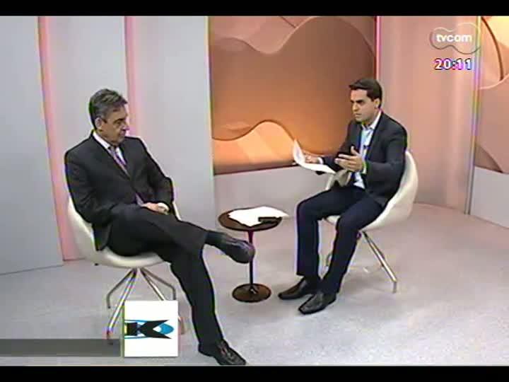 TVCOM 20 Horas - Entrevista com o vice-prefeito de Porto Alegre, Sebastião Melo - Bloco 2 - 19/06/2013