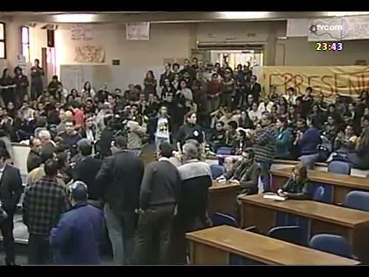 Jornal TVCOM traz informações sobre manifestação em Santa Maria - bloco 2 - 27/06/2013
