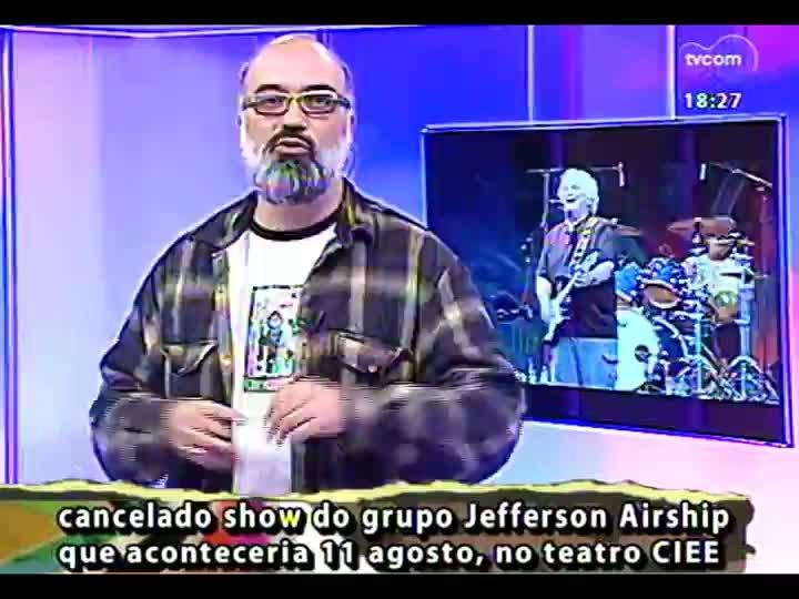 Programa do Roger - Uma bate papo e a música Stereo Maracanã - bloco 4 - 07/08/2013