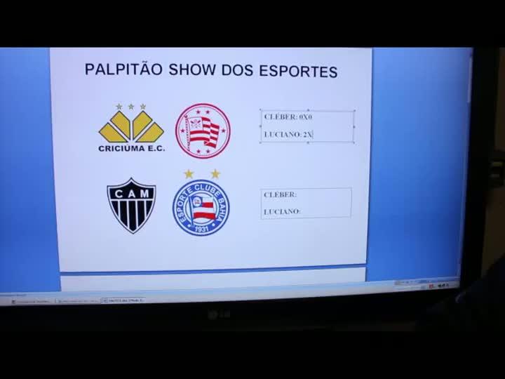Palpitão do Show dos Esportes - 13/08/2013
