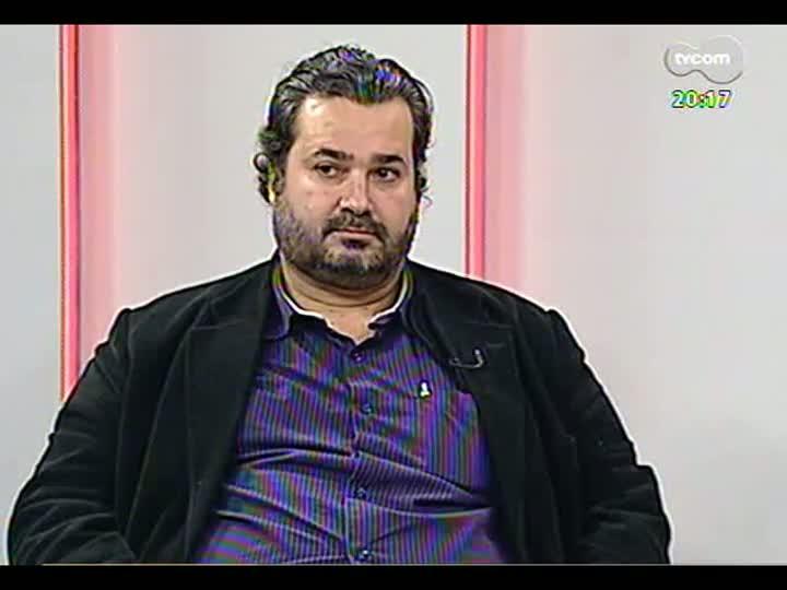 TVCOM 20 Horas - Entrevista com o vereador Cláudio Janta sobre as CPIs instaladas na Câmara de Vereadores - Bloco 2 - 15/08/2013