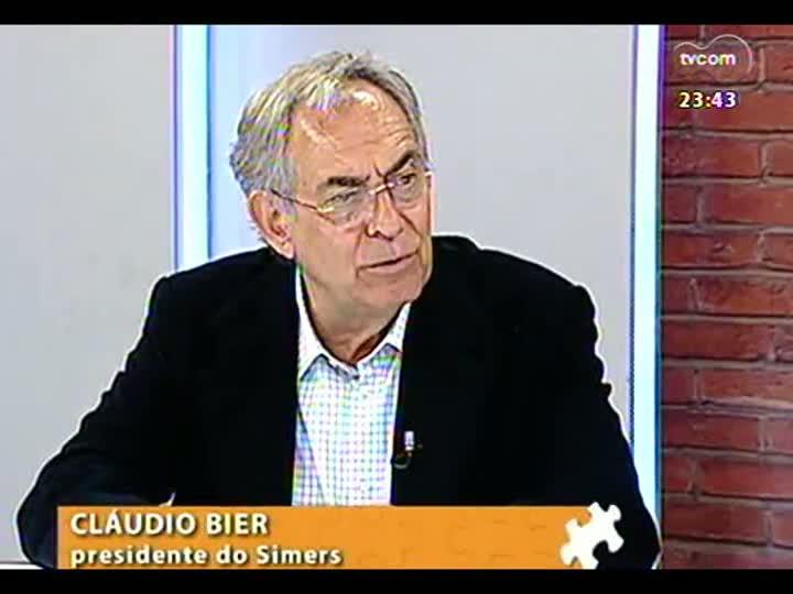 Mãos e Mentes - Presidente do Simers, Cláudio Bier - Bloco 2 - 27/08/2013