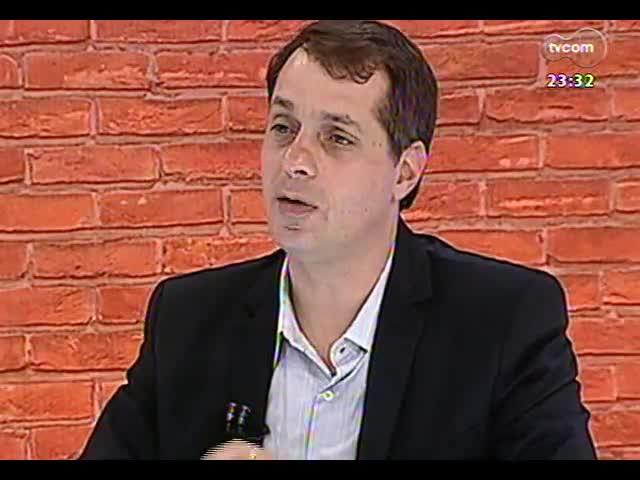 Mãos e Mentes - Jornalista e comentarista esportivo, Pedro Ernesto Denardin - Bloco 2 - 11/09/2013
