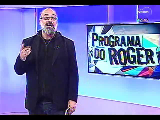 """Programa do Roger - Humberto Gessinger apresenta seu novo disco, \""""Insular\"""" - bloco 1 - 19/09/2013"""