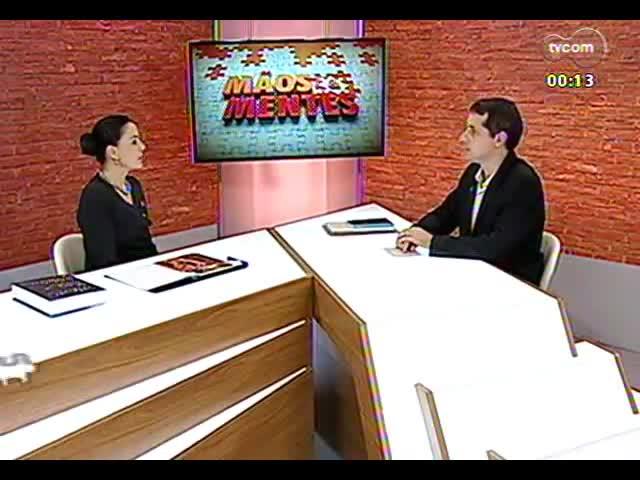 Mãos e Mentes - Presidente da 9ª Bienal do Mercosul, Patricia Duck - Bloco 4 - 27/09/2013