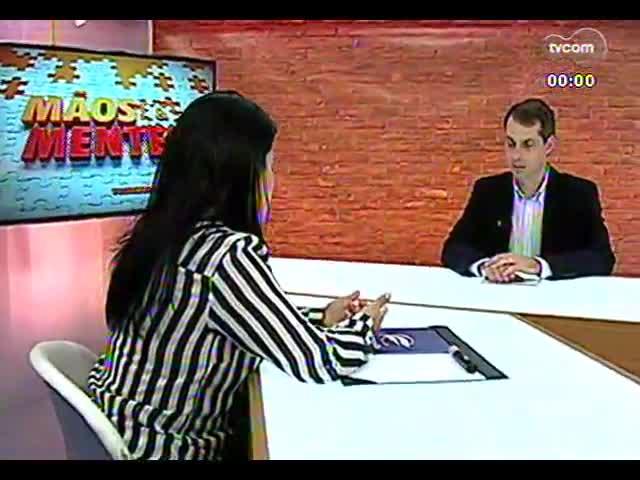 Mãos e Mentes - Diretora pedagógica do Colégio Farroupilha, Marícia Ferri - Bloco 3 - 18/10/2013