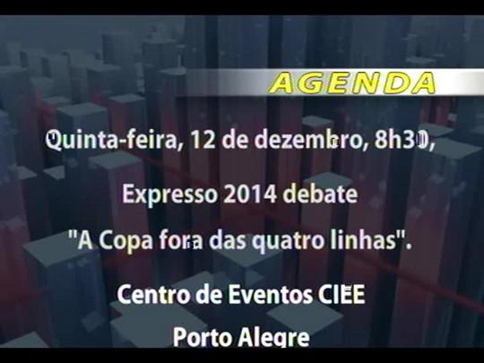 """Conversas Cruzadas - Debate sobre a nova campanha editorial do Grupo RBS em parceria com o MP, """"Uma Vida Vale Muito"""" - Bloco 2 - 10/12/2013"""