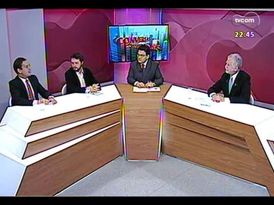 Conversas Cruzadas - Prefeito José Fortunati faz balanço de 2013 e fala das expectativas para 2014 - Bloco 3 - 27/12/2013