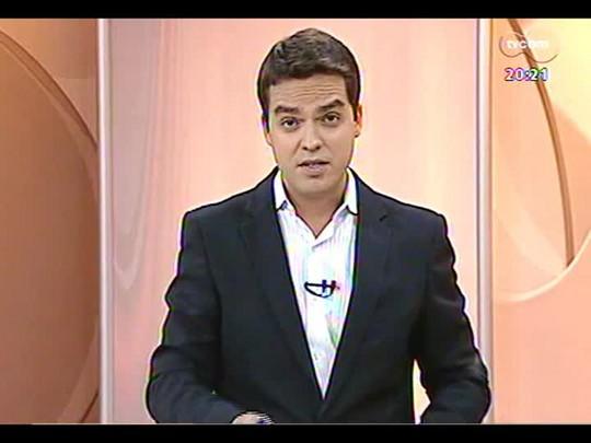 TVCOM 20 Horas - Ministro da Aviação Civil faz vistoria no Salgado Filho - Bloco 2 - 21/01/2014