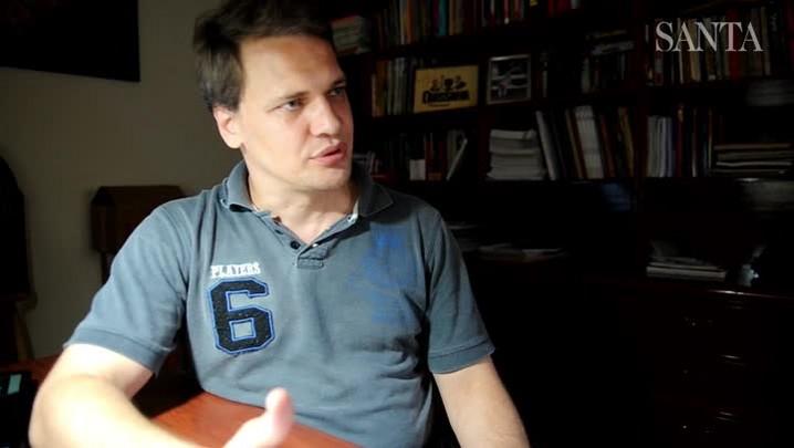 Maicon Tenfen fala sobre a vida de escritor