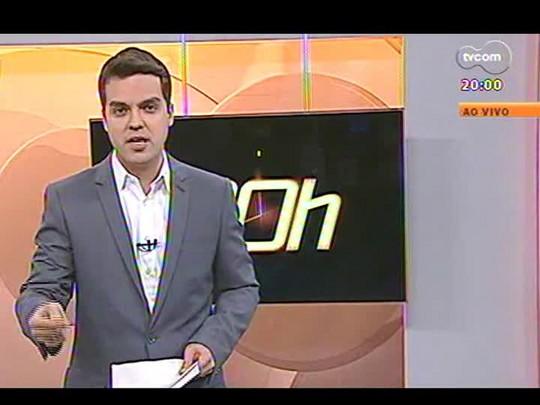 TVCOM 20 Horas - Depois de jogos da Copa, Brigada reabre o debate sobre quem deve fazer a segurança nos estádios - Bloco 1 - 26/06/2014