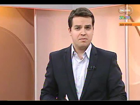 TVCOM 20 Horas - Reunião em Brasília discute a chegada de cidadãos de Gana em Caxias - Bloco 1 - 15/07/2014