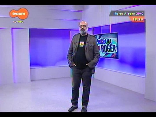 "Programa do Roger - Brechó do Roger ""Queen - Love of my life\"" - Bloco 4 - 07/09/2014"