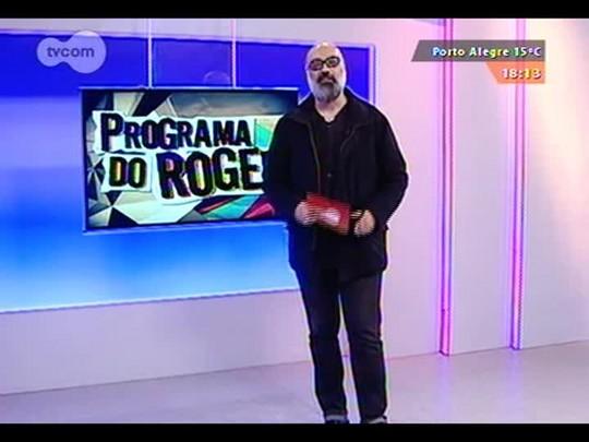 """Programa do Roger - Clipe Gaúcho \""""Graffiti\"""" vera Loca + Marcelo Delacroix - Bloco 3 - 11/09/2014"""