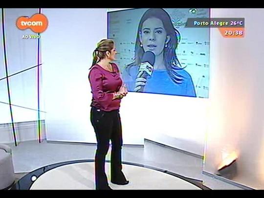 TVCOM Tudo Mais - Carolina Abelin entrevista o cronista Humberto Werneck diretamente da Feira do Livro de POA