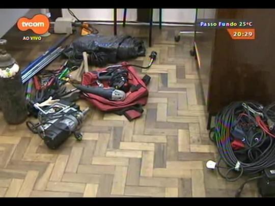 TVCOM 20 Horas - É preso o quinto suspeito de arrombar caixa eletrônico em Cachoeirinha - 02/12/2014