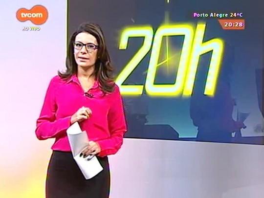 TVCOM 20 Horas - Justiça suspende lei que obriga instalação de ar-condicionado em todos ônibus da capital - 10/04/2015