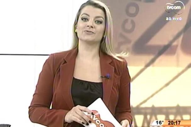 TVCOM 20 Horas - Projeto de Lei aumenta em 53 anos a idade de Florianópolis - 16.06.15