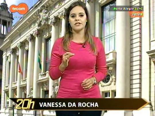 TVCOM 20 Horas - Resumo dos assuntos mais debatidos no estado com a repórter Vanessa da Rocha - 10/07/2015