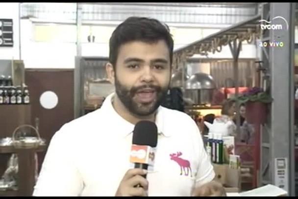 TVCOM Tudo+ - Mercado São Jorge: novidades do mercado de cosméticos orgânicos e naturais - 31.07.15